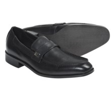 Bacco Bucci Kruthers Shoes - Leather, Slip-Ons (For Men) in Black - Closeouts