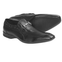 Bacco Bucci Strand Shoes - Calfskin, Slip-Ons (For Men) in Black - Closeouts
