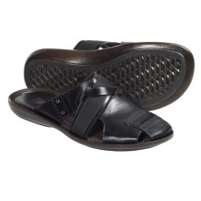 Bacco Bucci Teemu Sandals - Leather (For Men) in Black - Closeouts