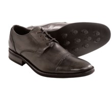 Bacco Bucci Weston Comfort Oxford Shoes - Cap Toe (For Men) in Brown - Closeouts