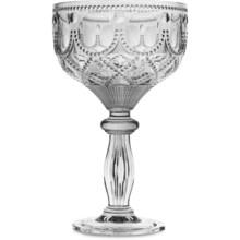 Baci Milano Diamonte Collection Acrylic Cocktail Glass - 13.5 fl.oz. in Silver - Closeouts