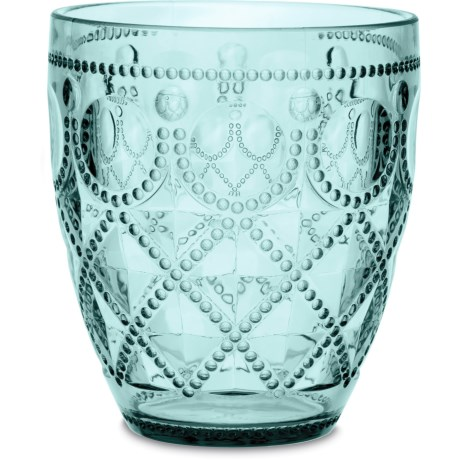 Baci Milano Diamonte Collection Acrylic Water Glass - 13 fl.oz.
