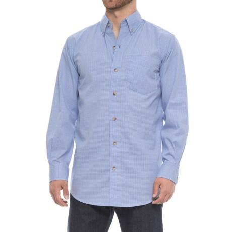 Backpacker Easy Does It Shirt - Long Sleeve (For Men) in Light Blue