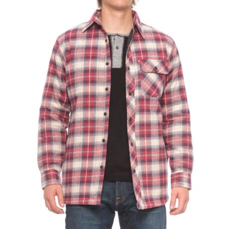 Backpacker Flannel Shirt Jacket (For Men) in Independent