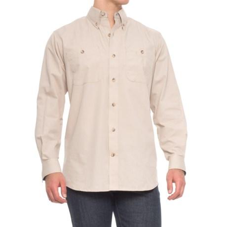 Backpacker High-Performance Wayfarer Ripstop Shirt - Long Sleeve (For Men) in Stone