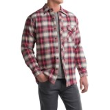 Backpacker Quilted Flannel Shirt Jacket (For Men)