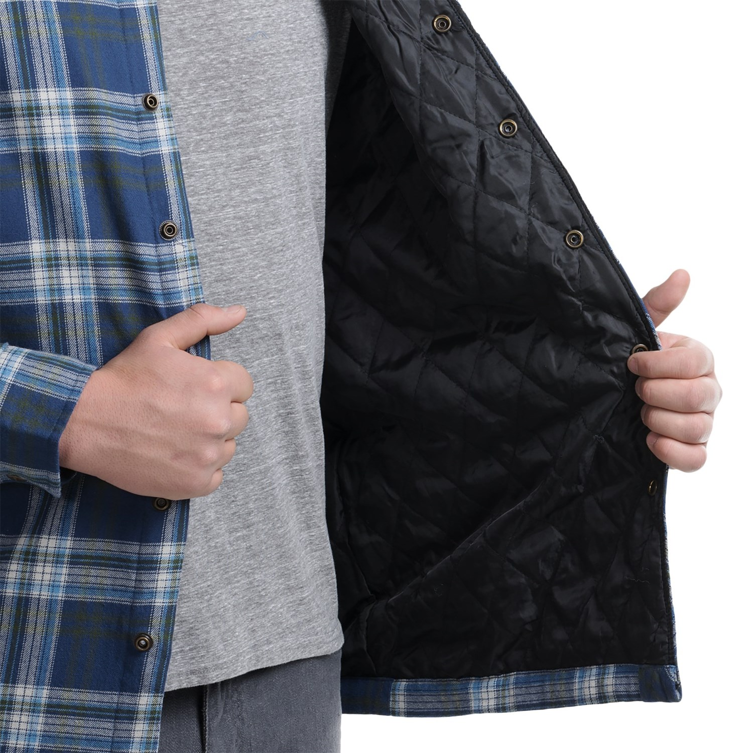 Flannel Shirt Jacket Quilted Lining - Best Shirt 2017