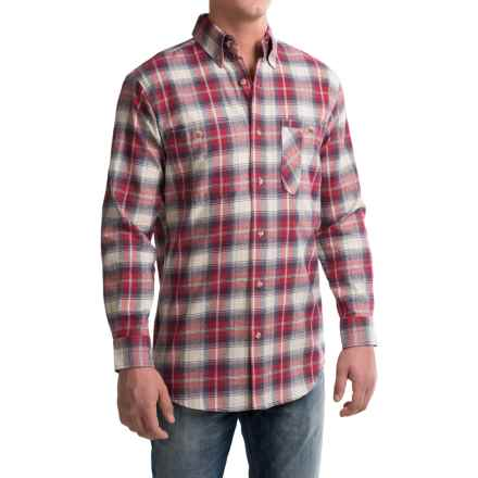Backpacker Yarn-Dyed Flannel Shirt - Long Sleeve (For Men) in Independent - Closeouts