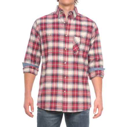 Backpacker Yarn-Dyed Plaid Flannel Shirt - Long Sleeve (For Men) in Independent - Closeouts