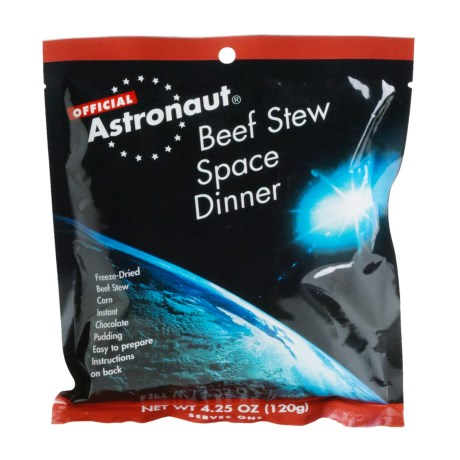 Backpacker's Pantry Astronaut Beef Stew Dinner in See Photo