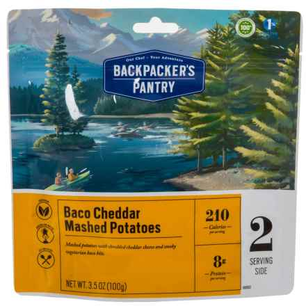 Backpacker's Pantry Baco Cheddar Mashed Potatoes - 2 Servings in See Photo - Closeouts
