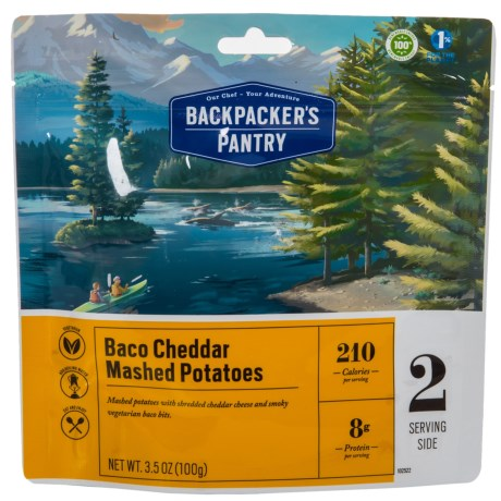 Backpacker's Pantry Baco Cheddar Mashed Potatoes - 2 Servings in See Photo