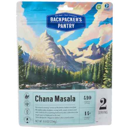 Backpacker's Pantry Chana Masala - 2 Servings in See Photo - Closeouts