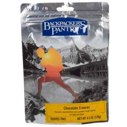 Backpacker's Pantry Chocolate S'mores - 2 Servings in See Photo - Closeouts