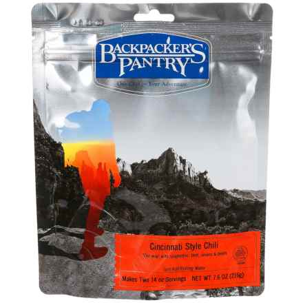 Backpacker's Pantry Cincinnati Chili - 2 Servings in See Photo - Closeouts