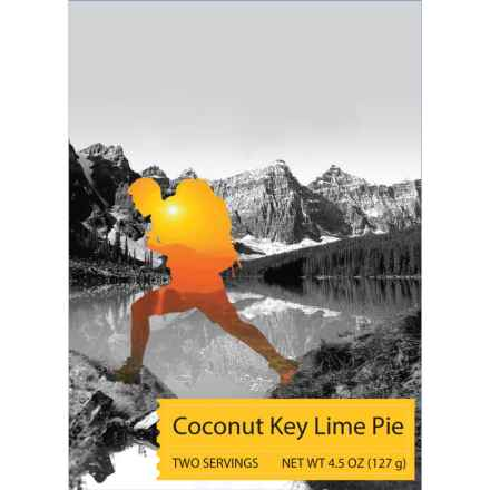 Backpacker's Pantry Coconut Key Lime Pie - 2 Servings in See Photo - Closeouts