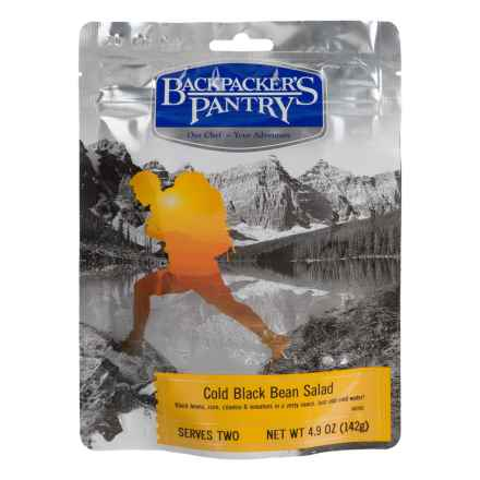 Backpacker's Pantry Cold Black Bean Salad - 2 Servings in See Photo - Closeouts