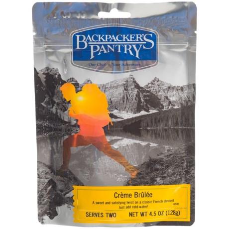 Backpacker's Pantry Creme Brulee - 2 Servings in See Photo