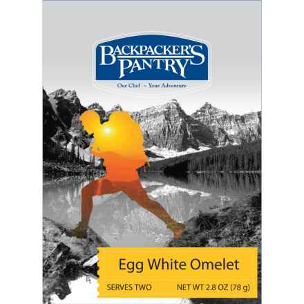 Backpacker's Pantry Egg White Veggie Omelet - 2 Servings in See Photo - Closeouts