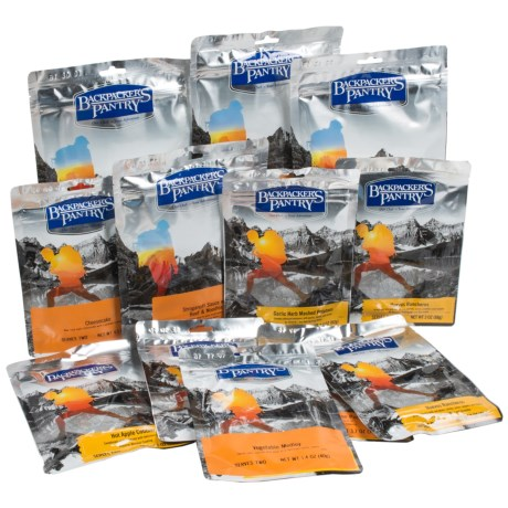 Backpacker's Pantry Gourmet Meal Pack - 2-Person, 3-Day in See Photo