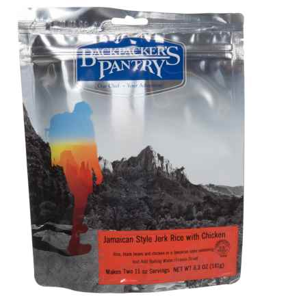 Backpacker's Pantry Jamaican Jerk Rice with Chicken - 2 Servings in See Photo - Closeouts
