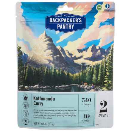 Backpacker's Pantry Katmandu Curry - 2 Servings in See Photo - Closeouts