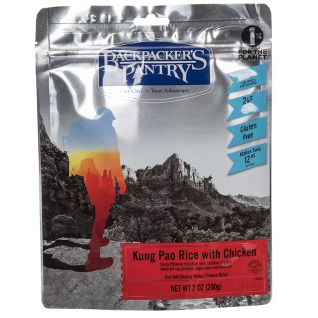 Backpacker's Pantry Kung Pao Chicken with Rice - 2 Servings in See Photo