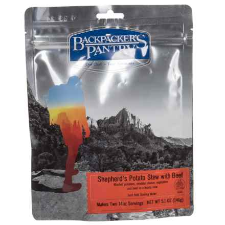 Backpacker's Pantry Shepherd's Potato Beef Stew - 2 Servings in See Photo - Closeouts