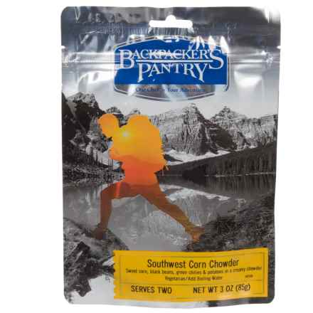 Backpacker's Pantry Southwest Corn Chowder - 2 Servings in See Photo - Closeouts
