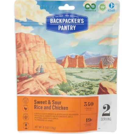 Backpacker's Pantry Sweet and Sour Rice and Chicken Meal - 2 Servings