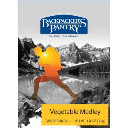 Backpacker's Pantry Vegetable Medley - 2 Servings in See Photo - Closeouts