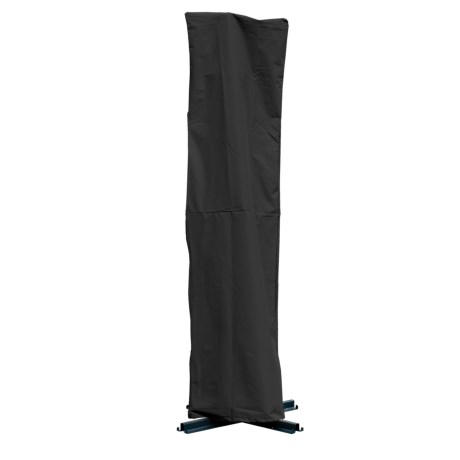 "Backyard Basics Offset Umbrella Cover - 35x100"" in Black"