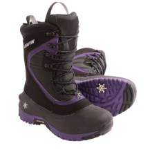 Baffin Alicia Snow Boots - Waterproof, Insulated (For Women) in Black/Plum - Closeouts