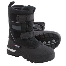 Baffin Bandit Snow Boots - Waterproof (For Little Kids) in Black - Closeouts