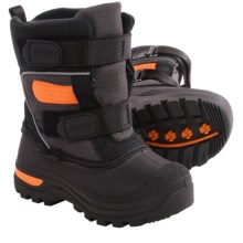 Baffin Bandit Snow Boots - Waterproof (For Toddlers) in Charcoal - Closeouts