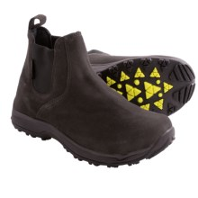 Baffin Beta Snow Boots - Waterproof, Insulated, Suede (For Men) in Charcoal - Closeouts