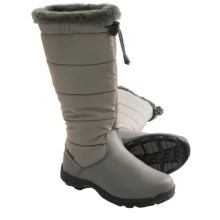 Baffin Boston Snow Boots - Waterproof, Insulated (For Women) in Grey - Closeouts