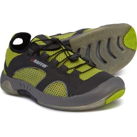 baffin men average savings of 44% at sierrabaffin bvi water shoes (for men) in charcoal lime