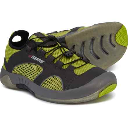 85f50f20aa8 Baffin BVI Water Shoes (For Men) in Charcoal/Lime