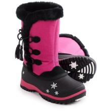 Baffin Cadee Snow Boots - Waterproof, Insulated (For Big Girls) in Hyper Berry - Closeouts