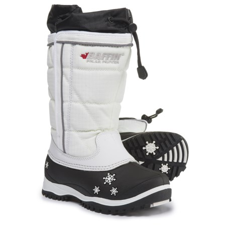 Baffin Cheree Pac Boots - Waterproof, Insulated (For Girls) in White