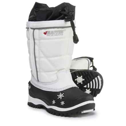 Baffin Cheree Pac Boots - Waterproof, Insulated (For Toddler Girls) in White - Closeouts