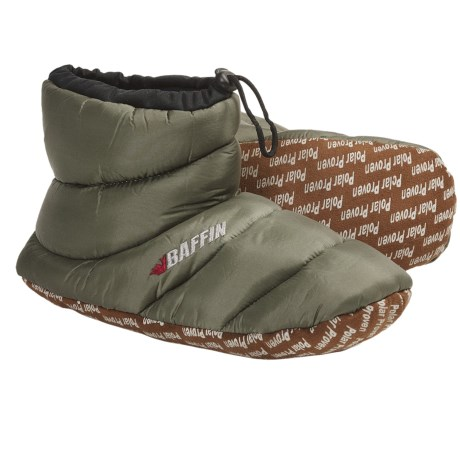 Baffin Cush Bootie Slippers - Insulated (For Women) in Fern