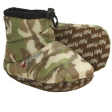 Baffin Cush Bootie Slippers - Insulated (For Youth) in Brown Camo - Closeouts