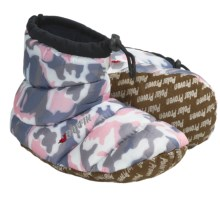 Baffin Cush Bootie Slippers - Insulated (For Youth) in Pink Camo - Closeouts