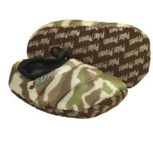 Baffin Cush Slippers - Insulated (For Kids and Youth) in Brown Camo - Closeouts