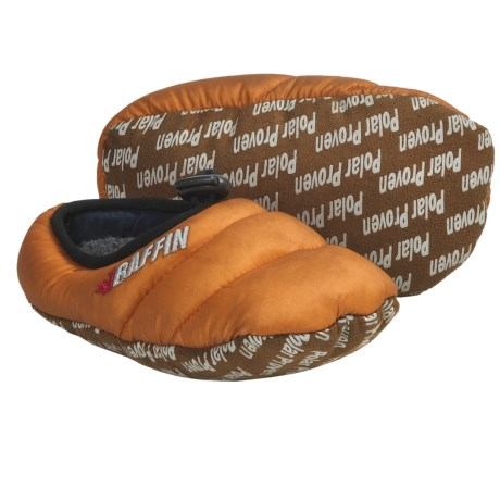 Baffin Cush Slippers - Insulated (For Kids and Youth) in Mango