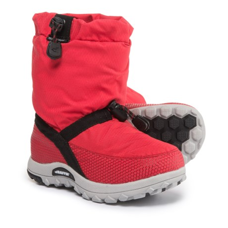 Baffin Ease Snow Boots - Waterproof, Insulated (For Boys) in Red