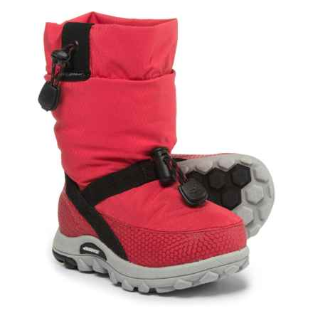 Baffin Ease Snow Boots - Waterproof, Insulated (For Toddler Boys) in Red - Closeouts