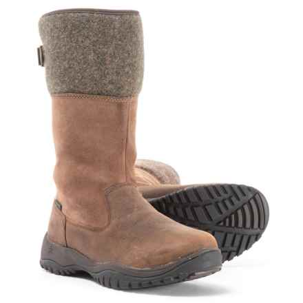 Baffin Engelberg Boots - Waterproof, Slip-Ons  (For Women) in Brown - Closeouts